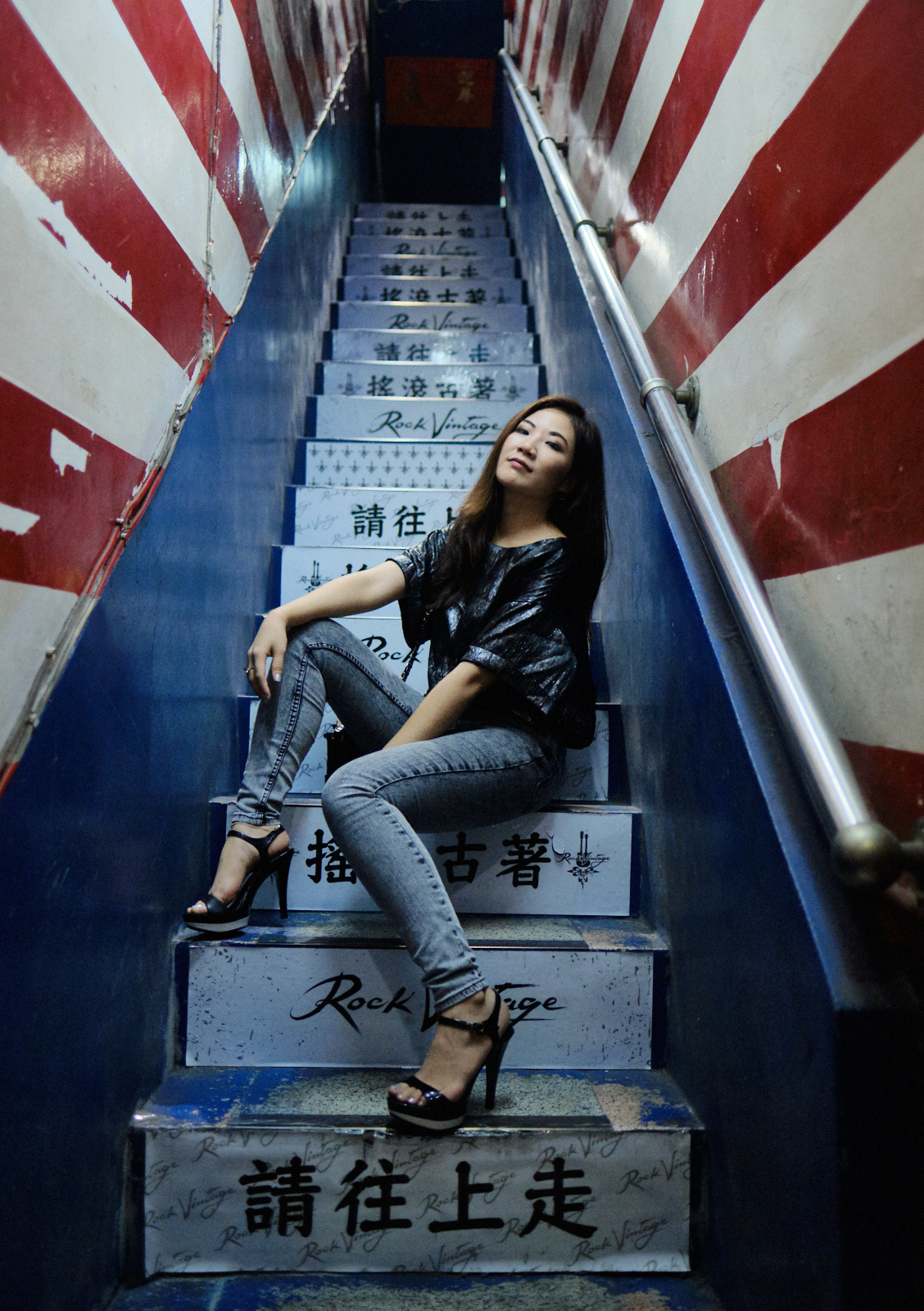 TFP Portraiture with Erica inTaipei